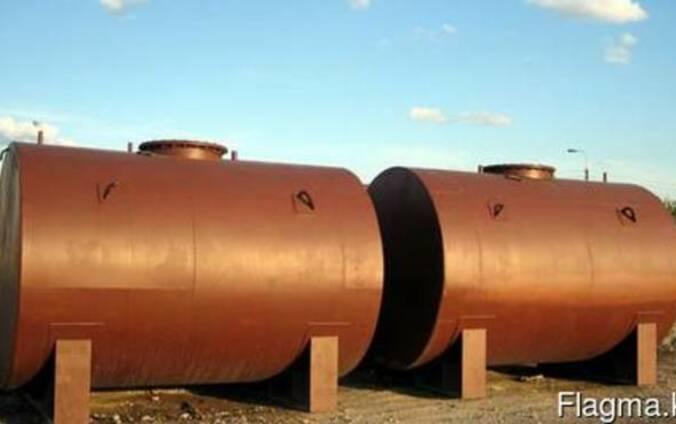 Резервуар горизонтальный стальной наземный (РГСН) 5м3