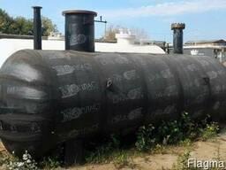 Резервуар СУГ двустенный подземный