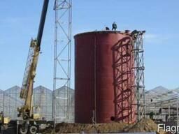 Резервуар вертикальный стальной РВС-5000м3 м. куб. от произв