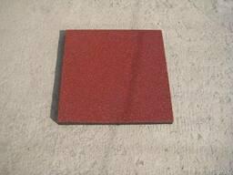 Резиновая плитка 500*500 10мм