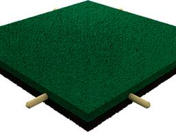 Резиновая плитка 500х500х10(16, 20, 30, 40) бесплатная доставка