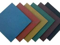 Резиновая плитка стандарт 1000*1000*20 мм и 500*500*20 мм