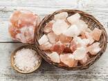 Розовая Гималайская соль (галька)