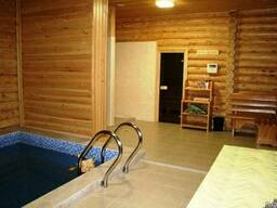 Русская баня из бревна, Срубы, Сауны, финская баня - фото 4