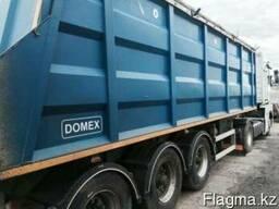 Самосвал, доставка и перевозка сыпучих грузов