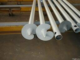 Screw piles from 1000 to 4500mm