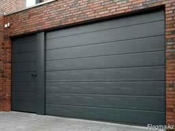 Секционные гаражные ворота от компании Гамма