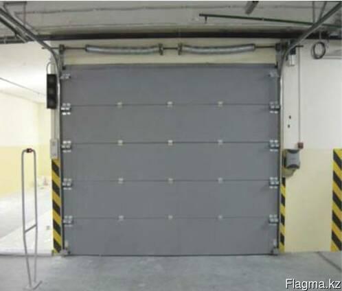 Секционные противопожарные ворота 3000 х 2500