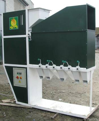 Сепаратор ИСМ-15, очистка и калибровка зерна
