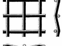 Сетка сложно-рифленая 38х38-Ø6, 0