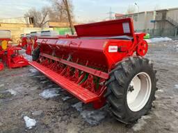 Сеялка зерновая 4м с дополнительным оборудованием
