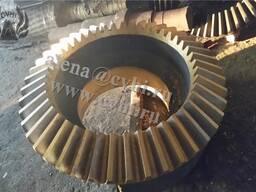 Шестерня зубчатое колесо конусной дробилки КСД КМД 22001750