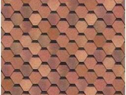 Shinglas серия Кадриль соната, цвет красно-коричневый