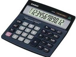 Широкий настольный калькулятор Casio, D-20L-SA-GH