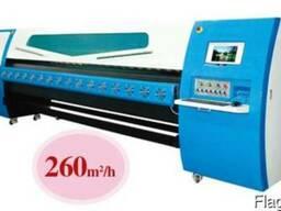 Широкоформатный сольвентный принтер, шириной 5метров