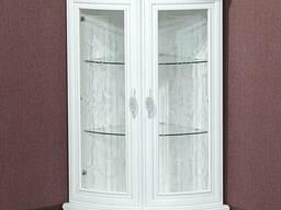 """Шкаф для посуды """"Милан-5"""" из массива древесины"""