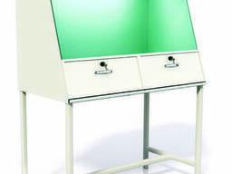 Шкаф вытяжной универсальный, малый, химический, Стол-зонт