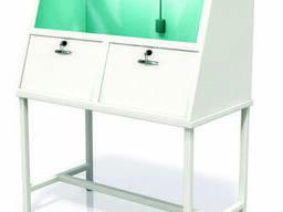 Шкаф вытяжной, универсальный 2-х секционный
