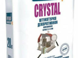 Штукатурка декоративная камешковая. Bergauf Crystal