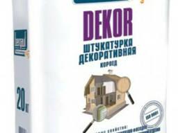 Штукатурка декоративная короед - Bergauf DEKOR