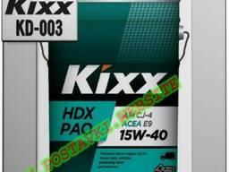 Синтетическое дизельное моторное масло kixx hdx pao арт. :