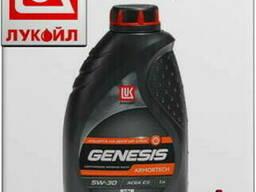 Синтетическое моторное масло лукойл genesis armortech vn 5w3