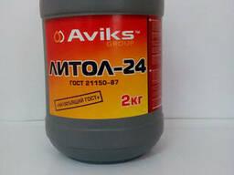 Смазка Литол-24 (банка 2,0 кг) - фото 1
