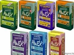 Смеси для отделки «AlinEX» Алинекст Краски, клеи, праймеры