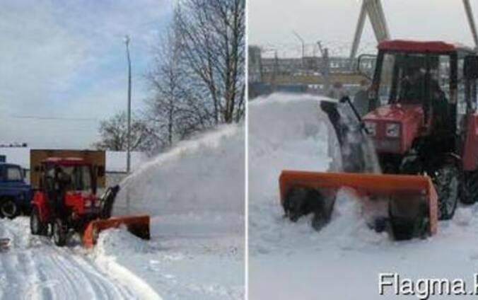 Снегоочиститель шнекороторный на минитрактор