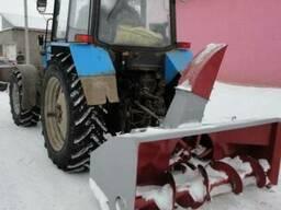 Снегоочиститель СШР-2. 0 задняя навеска для МТЗ80/82