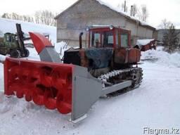 Снегоочиститель СШР-2, 6М передняя навеска на ДТ75