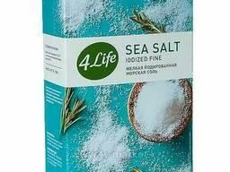 Соль морская мелкая йодированная (4LIFE) (1кг)