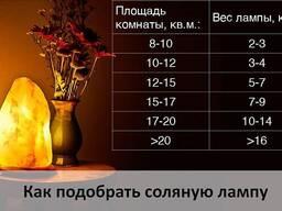 Солевая лампа 2-3 кг