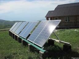 Солнечные панели, ветровые генераторы, бурение скважин.