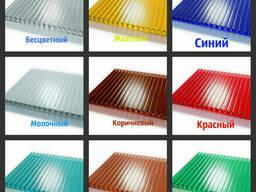 Сотовый поликарбонат 14 различных оттенков на выбор