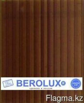 Сотовый поликарбонат Berolux 10 мм (2,1 х 12) терракот