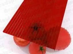 Сотовый поликарбонат красный от 4 мм до 32 мм, 2,10*6 м