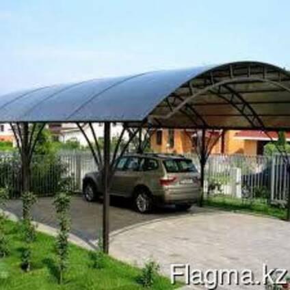 Сотовый поликарбонат (полигаль) 10мм