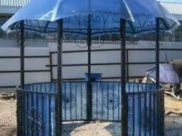 Сотовый поликарбонат (полигаль) 10мм - фото 2