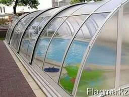 Сотовый поликарбонат прозрачный для теплиц и кровли