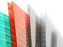 Сотовый поликарбонат Woggel цветной 6*2100*12000мм