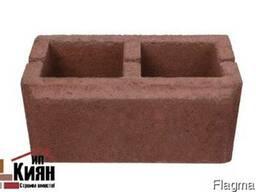 Сплиттерный блок «Гладкий с фаской»