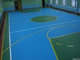 Спортивное ПВХ-покрытие (спортивный линолеум)