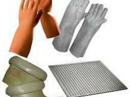 Средства электрозащиты в Алматы боты перчатки коврики