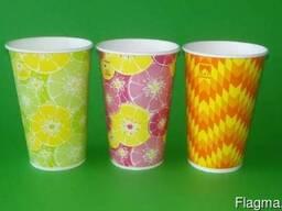 Стаканы бумажные для холодных напитков