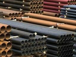 Стальные трубы и детали трубопровода