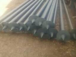 Steel piles-Ø133 (Screw)