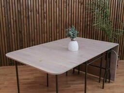 Стол-книжка раскладной длина 2м 75см, ширина 90см, высота 78