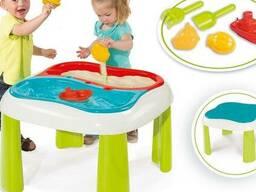 Стол-песочница для песка и воды Smoby 840107 Франция