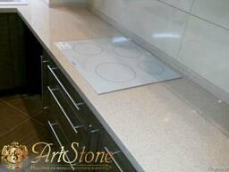 Столешницы и фартук из искусственного камня для кухни - фото 5